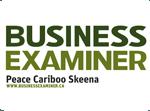 Proud member of Business Examiner Peace Cariboo