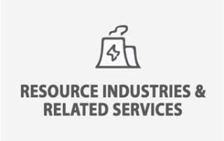 Resource Industries & Related Services Icon - Small Business Financing